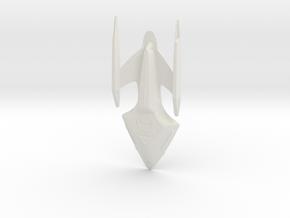Prometheus middle in White Natural Versatile Plastic