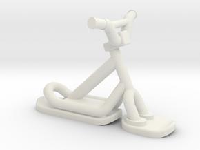 Snowscoot 2,8cm Sans Logo Aps in White Natural Versatile Plastic