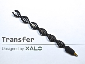 Transfer in Black Strong & Flexible