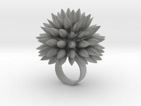 Dahly Ring in Metallic Plastic