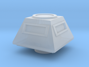Turret Command Europe #1 (n-scale) in Smooth Fine Detail Plastic