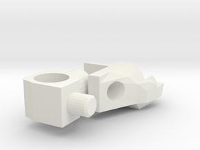 Generations Stealth Bomber shoulder mount 2.0 in White Natural Versatile Plastic