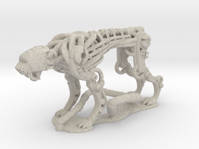 Robotic Cheetah: 1 piece in Natural Sandstone