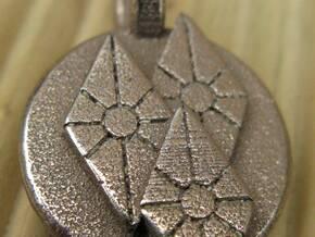 Diamonds Pendant in Stainless Steel
