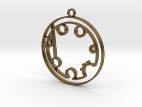 Brooklyn - Necklace in Raw Bronze