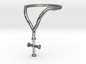 LANA Ring - Sz. 7 in Premium Silver