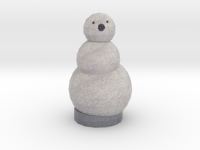 There's no guy like snow guy in Full Color Sandstone