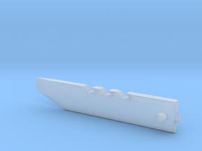 Razor Sword part 1 in Smooth Fine Detail Plastic