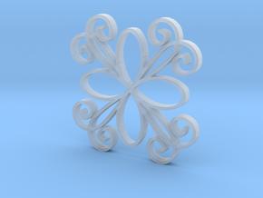 InDepth 5 Pendant in Smooth Fine Detail Plastic