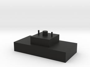 MX 2u Blocker V1 in Black Natural Versatile Plastic