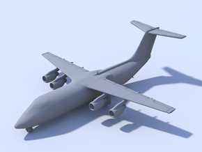 1:500 - BAE_146-300 [Assembled] in Smooth Fine Detail Plastic