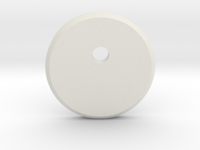 Pilot Chestbox Offset Disk in White Natural Versatile Plastic