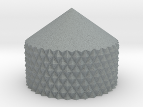 Pilot Chestbox Knurled Point in Polished Metallic Plastic