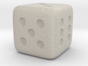 Dice in Natural Sandstone