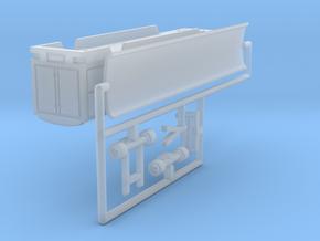 Transport Tonnendachwagen 12 m - 1:220 (z scale) in Smooth Fine Detail Plastic