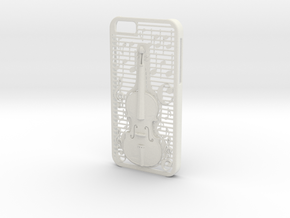 Iphone 6 Case: Violin in White Natural Versatile Plastic