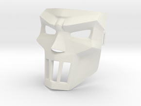 Casey jones new mask in White Strong & Flexible