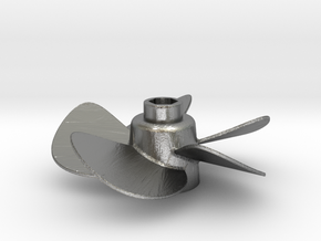 Propeller with 5 Blades in Natural Silver