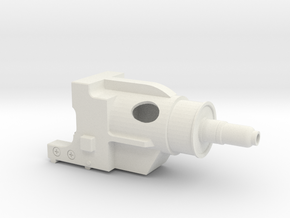 10-16-14 DLT-20A SCOPE SHROUD in White Strong & Flexible