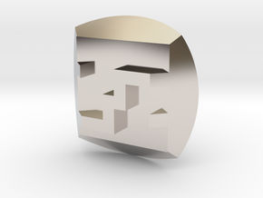 Bionicle - Nuva Symbol - Ice in Platinum