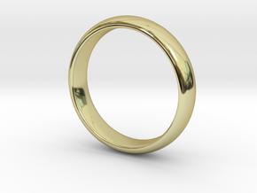 Sample in 18k Gold