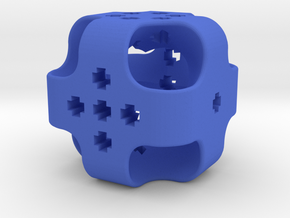 Dice11 in Blue Processed Versatile Plastic