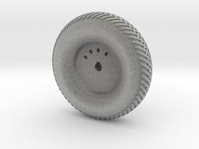 08A-LRV - Front Left Wheel in Metallic Plastic