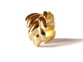 SPIGA ring in 18k Gold Plated: 8 / 56.75