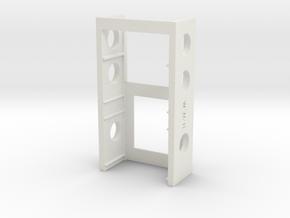 SX350CRADELV3a1-ridges in White Natural Versatile Plastic