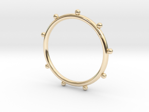 Ball Ring - Sz. 7 in 14K Yellow Gold