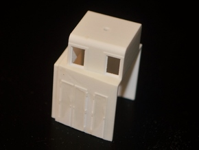 HO-Scale UP TR-5 Dynamic Brake Box in Smooth Fine Detail Plastic
