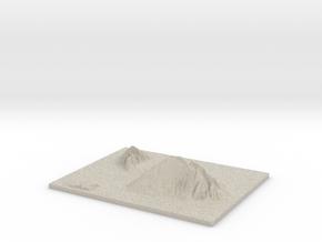 Model of 'Alae Three-Four in Sandstone
