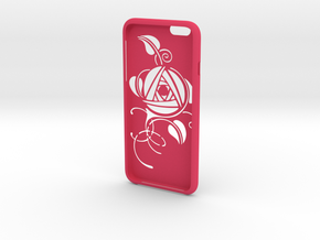 IPhone6 Big Cut Style Rose in Pink Processed Versatile Plastic