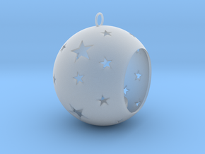 Christmas Bauble Tealight Stars in Smooth Fine Detail Plastic
