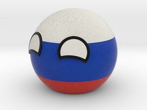 Russiaball in Full Color Sandstone