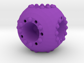 Dice18 in Purple Processed Versatile Plastic