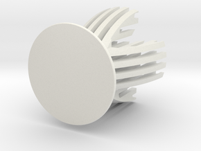 Sliced Egg Holder in White Natural Versatile Plastic