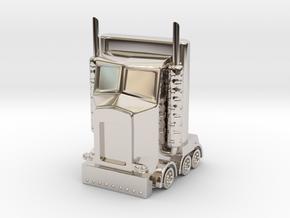 My Little Optimus Prime in Platinum