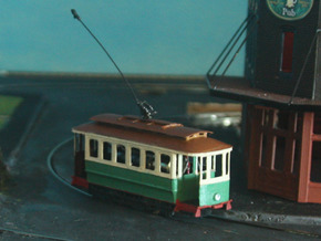 Sydney C Class Tram 1:87 HO in Smooth Fine Detail Plastic