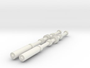 Vader Rods ESB in White Natural Versatile Plastic