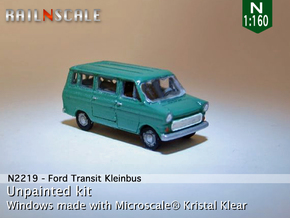 Ford Transit Kleinbus (N 1:160) in Frosted Ultra Detail