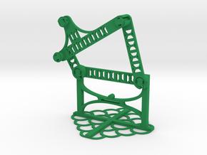 b: 3.25 c: 3.50 f: 2.75 CL: 1.61 CP: 3.84 in Green Processed Versatile Plastic