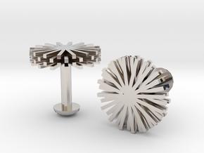 Cufflink in Platinum