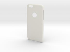 IPhone6 Big Cut Leaf in White Natural Versatile Plastic