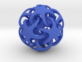 Quintrino Pendant in Blue Processed Versatile Plastic