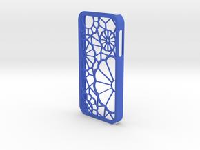 IPhone 5 Lace Case in Blue Processed Versatile Plastic