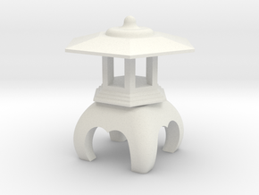 Spirit House - Venerable in White Natural Versatile Plastic
