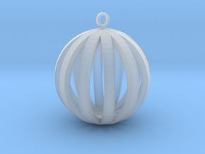 Round Pendant in Smooth Fine Detail Plastic