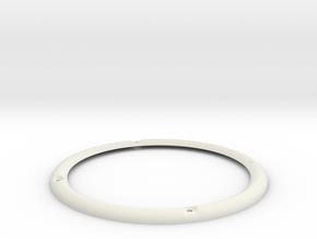 RM65-4AL 3D Zierring M4 in White Natural Versatile Plastic