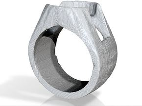 sinestro ring band. in Black Strong & Flexible